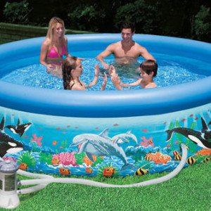 Intex 28126GN Ocean Reef Easy Set Pool 305a
