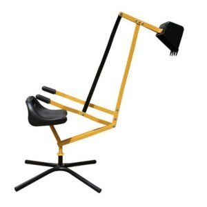 Graver Digger met stoel metaal Playfun