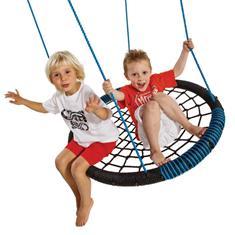 Nest Swing Seat (Ovaal) zwart groen