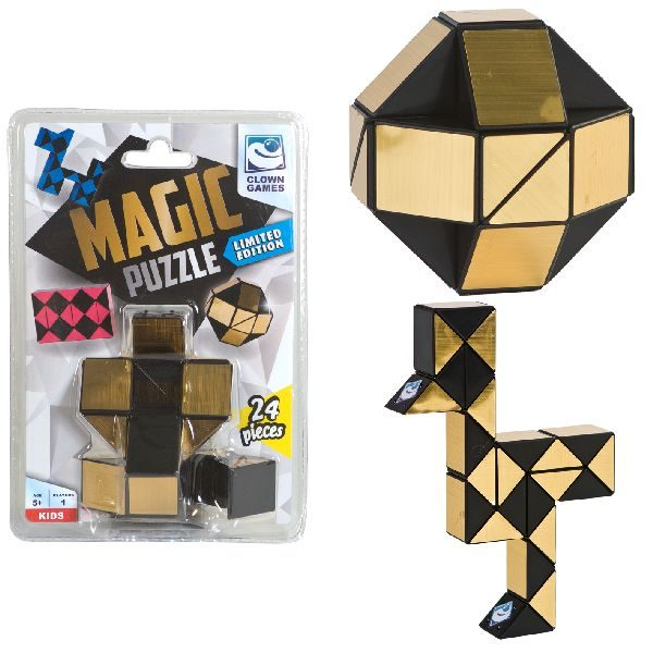 Clown Magic Puzzle Gold 24 Dlg