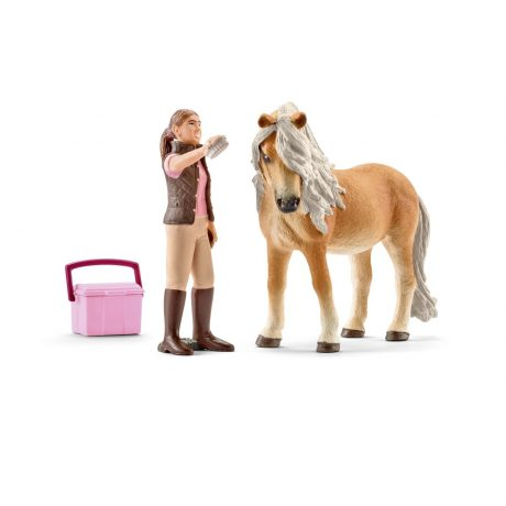 Schleich 41431 Paard met verzorger Horse Club