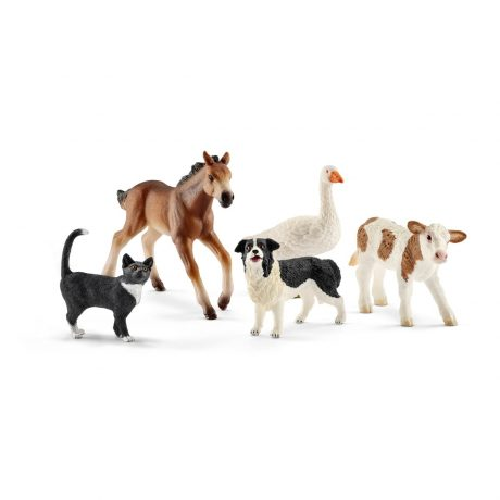 Schleich 42386 Animal Mix Farm World
