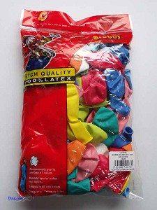 Globos ballonnen nr 12 assortiment zak a 100 stuks