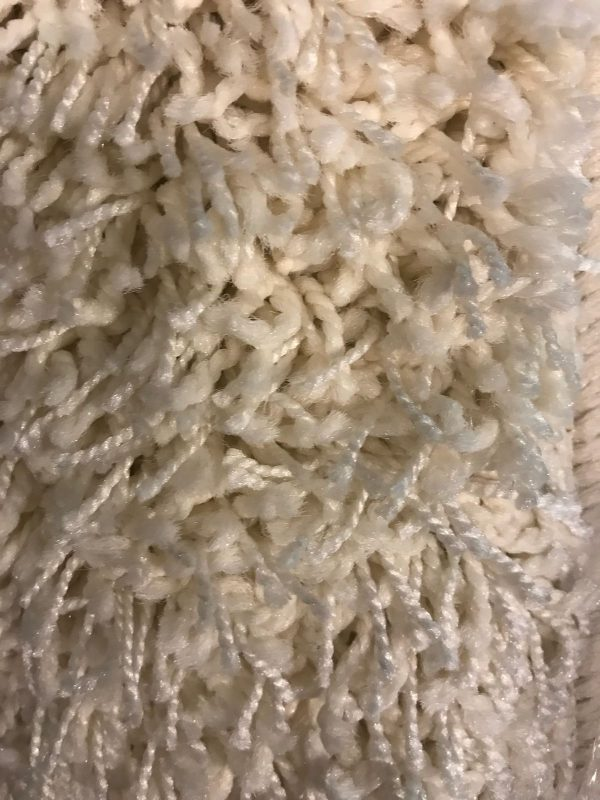 Vloerkleed Ruby Highline karpet 160 x 240 cm Hoogpolig kleur wit/Creme