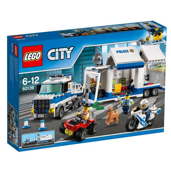 LEGO 60139 CITY POLICE MOBIELE COMMANDOCENTRALE