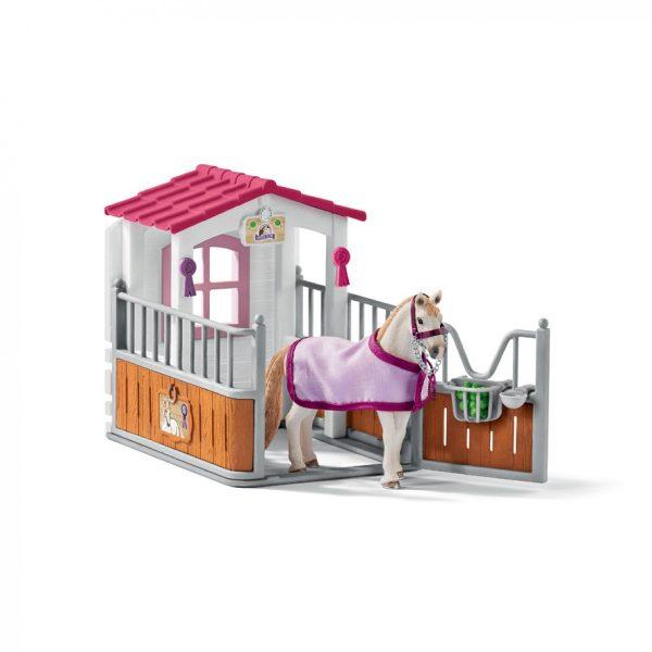 Schleich Paarden – Paarden box Met Lusitano Merrie 42368