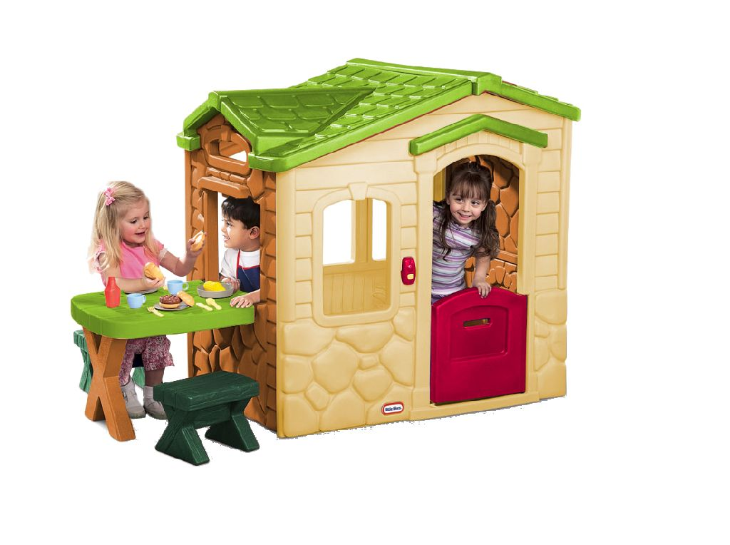 Picknicktafel Kinderen Little Tikes.Little Tikes Speelhuis Met Picknick Tafel Outlet Shopping