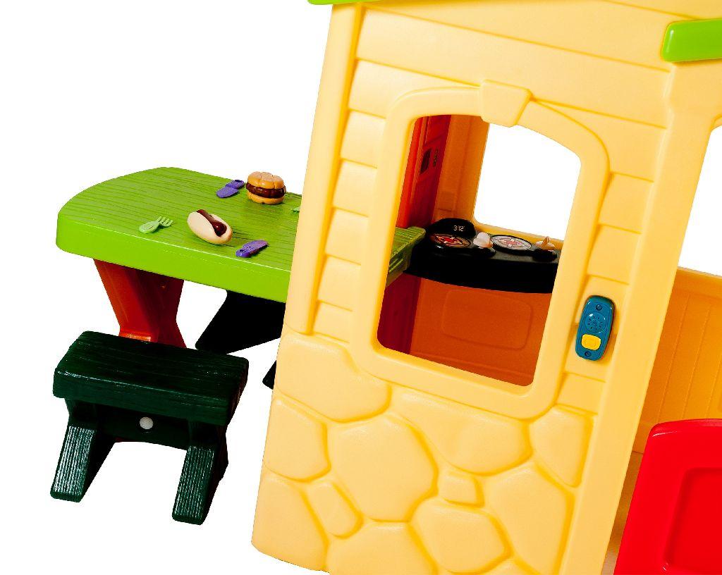Little Tikes Keuken : Little tikes speelhuis met picknick tafel outlet shopping