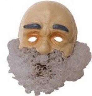 3D Masker Abraham baard