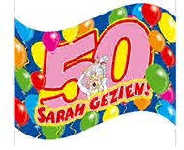 Gevelvlag Sarah 60x90cm/stk
