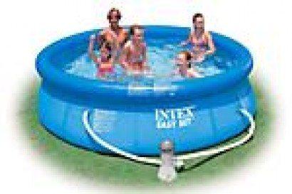 intex easy set pool 244 incl pomp outlet shopping. Black Bedroom Furniture Sets. Home Design Ideas