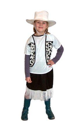 Cowgirl kostuum 128/140