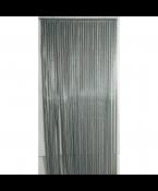 living Deurgordijn PVC Twinkle zwart/zilver maat 90x220cm