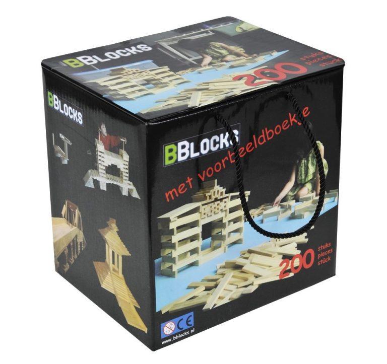 200 Bblocks in bewaardoos