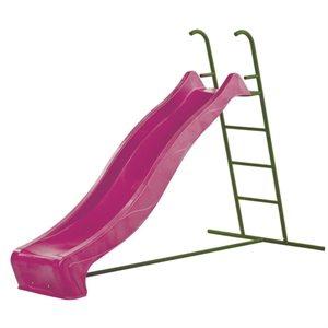 Glijbaan met vrijstaande ladder met S-line – hoog: 1200 cm