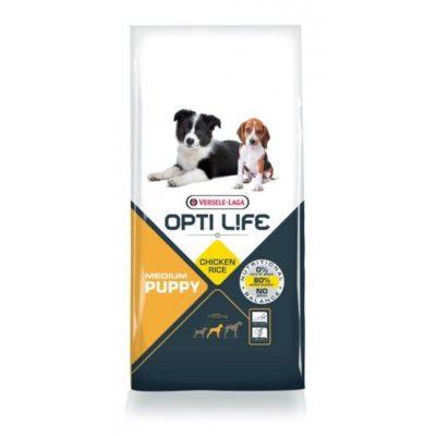 Opti Life Puppy Medium hondenvoer 2.5 kilo