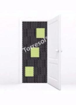 Torresol vliegengordijn k&k 3 Blokken Z Groen 90×210