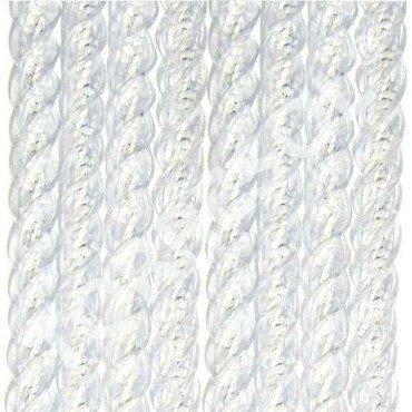Kunststof draadgordijn maatwerk Manacor wit 90 X 210 Cm