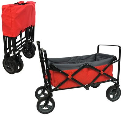 Outdoor Bolderwagen Opvouwbaar rood