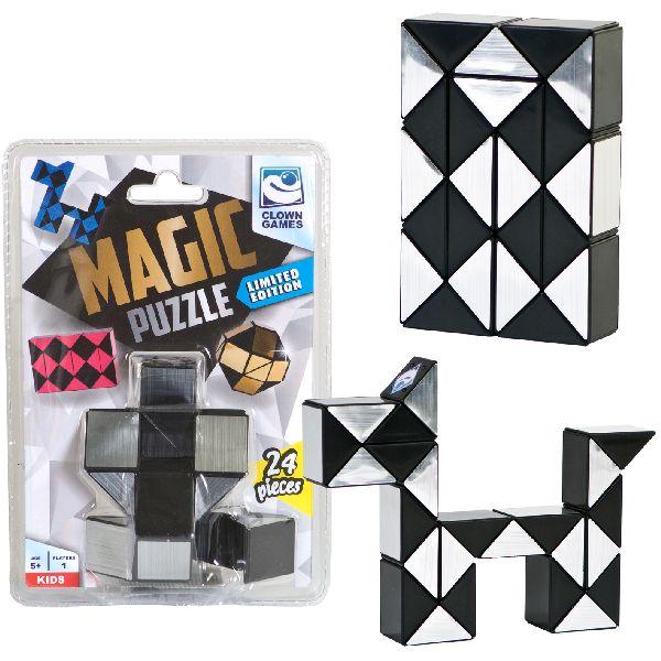 Clown Magic Puzzle Silver. 24dlg