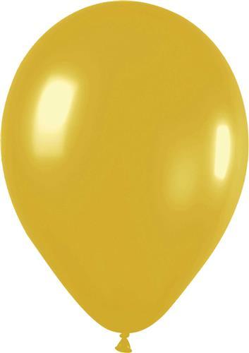 Ballon goud per 25 stuks