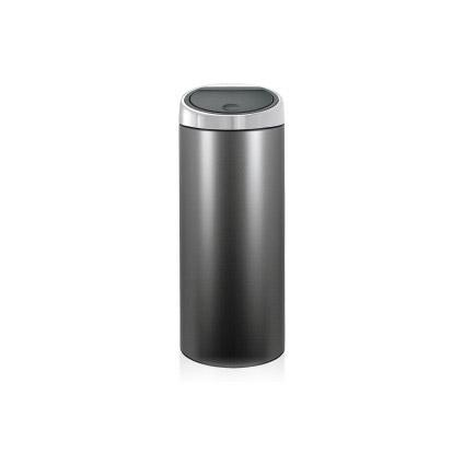 Brabantia touch bin 30l - platinum/matt steel