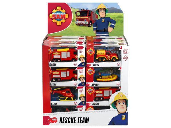 Brandweerman Sam Die Cast Voertuig