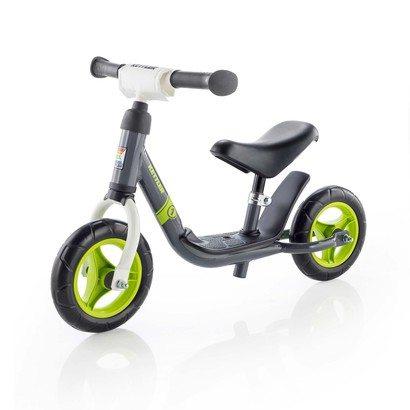 Kettler loopfiets Run Boy – 8 inch – grijs/groen/wit