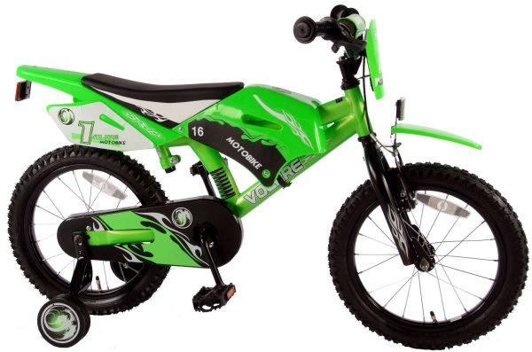 Volare Motobike 16 inch jongensfiets 95% afgemonteerd