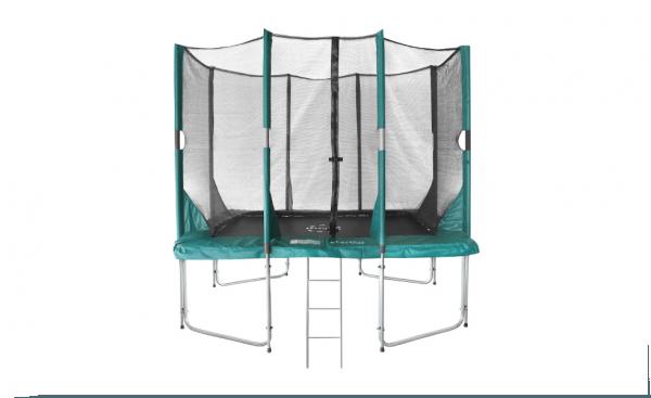 Trampoline Hi-Flyer 0965 Combi + veiligheidsnet + ladder  281 x 201 cm