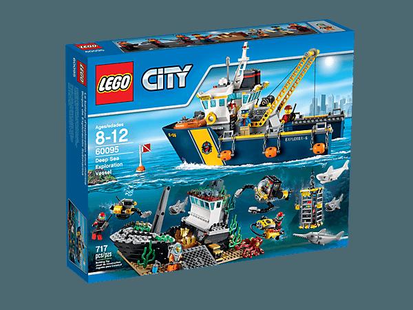 LEGO 60095 City diepzee onderzoeksschip