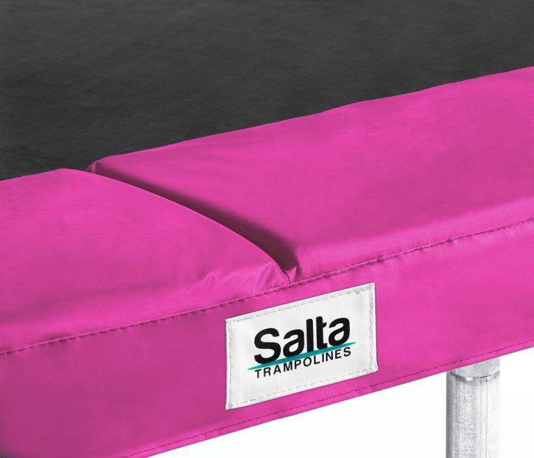 TRAMPOLINE RAND RECHTHOEKIG Salta 214X305 CM Pink