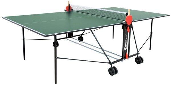 Sponeta tafeltennistafel indoor S1-42 i groen 274 x 152,5 x 76 cm
