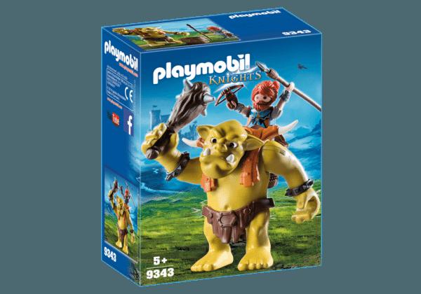 Playmobil 9343 Reuzentrol met soldatendwerg