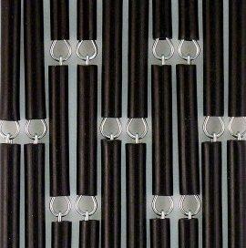 Vliegengordijn Torresol kant-en-klaar antraciet 100 x 215 Cm