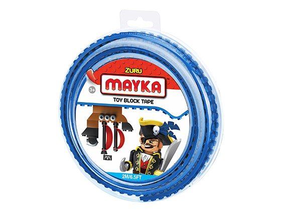 Mayka bouwblokjes tape medium 2 meter 4knopjes