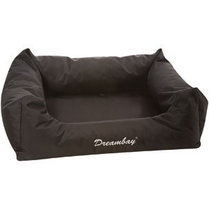 BED DREAMBAY BLACK 80 X 67 X 22 CM
