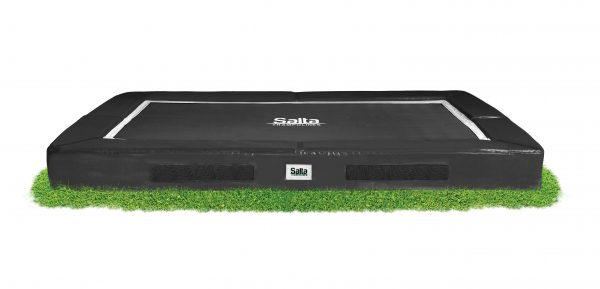 Salta Excellent Ground trampoline rechthoekig – 213 x 305 cm – zwart