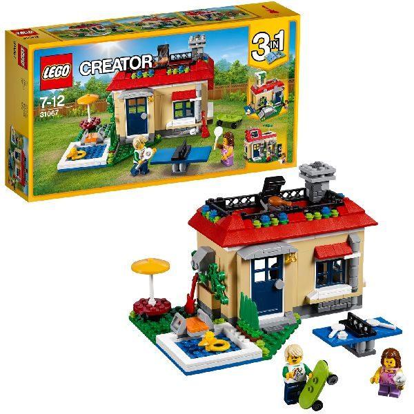 LEGO 31067 CREATOR VAKANTIE AAN HET ZWEMBAD