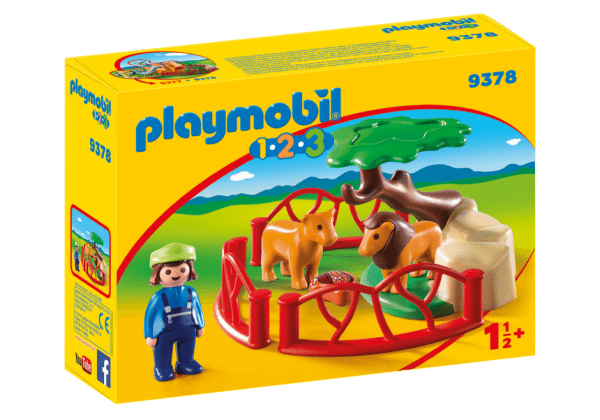 Playmobil 9378 leeuwenverblijf 1.2.3