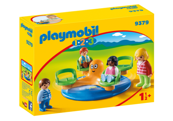 Playmobil 9379 kindermolen 1.2.3