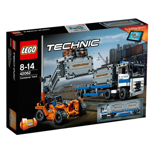 LEGO TECHNIC 42062 CONTAINERTRANSPORT