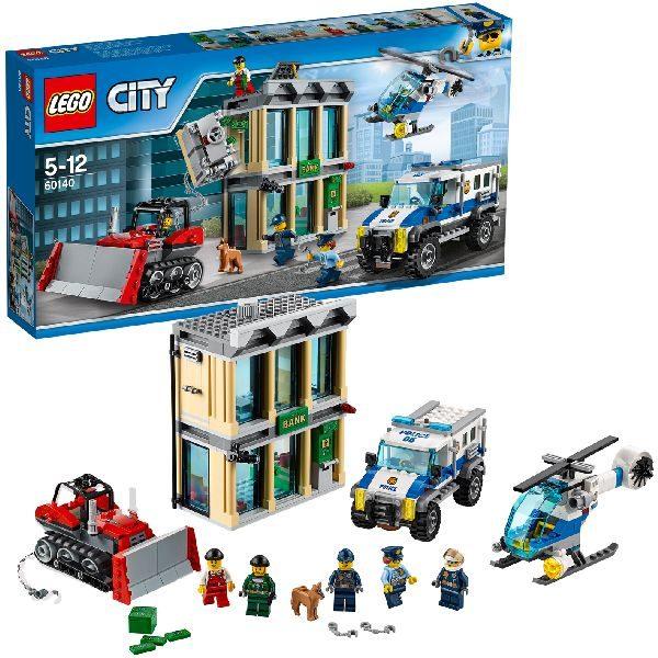 LEGO 60140 CITY POLICE BULLDOZER INBRAAK