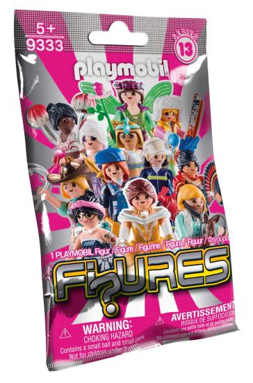 10 x Playmobil Figures Girls Serie 13