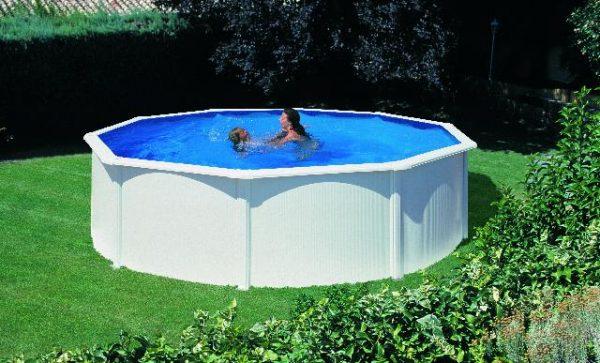 Zwembad Fidji set rond 460 x 120 cm