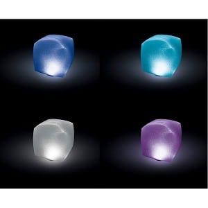Intex zwembadverlichting drijvende LED kubus. 23 x 23 x 23 cm
