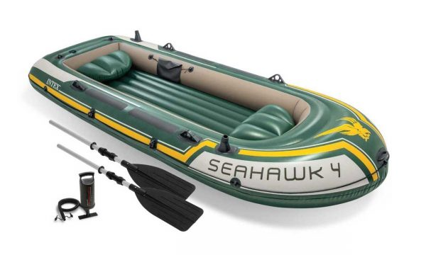 Intex-Opblaasboot Seahawk 4 Set