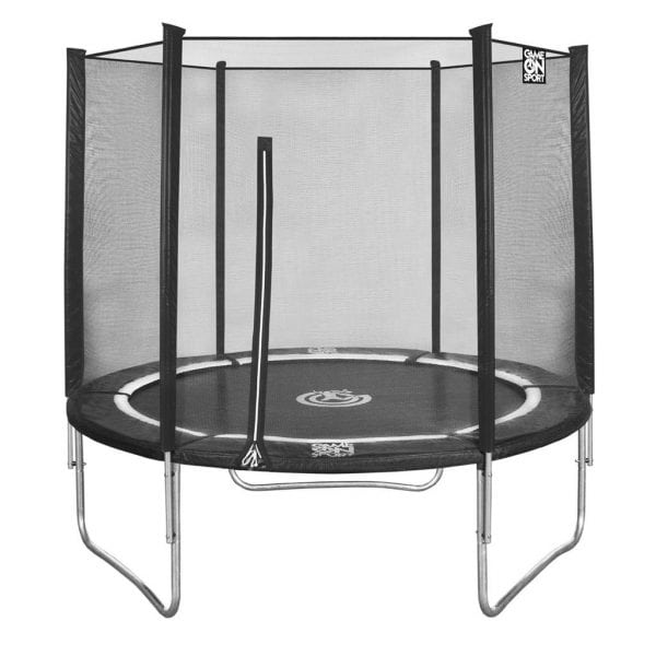 Trampoline 244 combi GAME ON SPORT JUMPLINE zwart