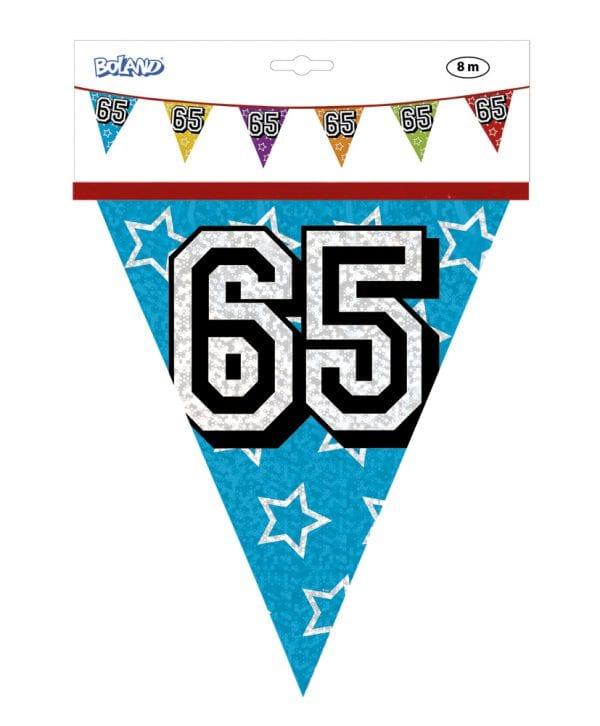 vlaggenlijn 65 jaar holografische