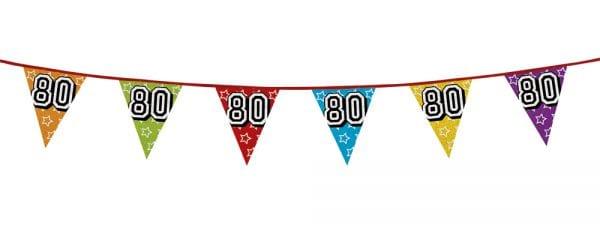 vlaggenlijn 80 jaar holografische